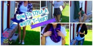 how to style a white t shirt thumbnaik