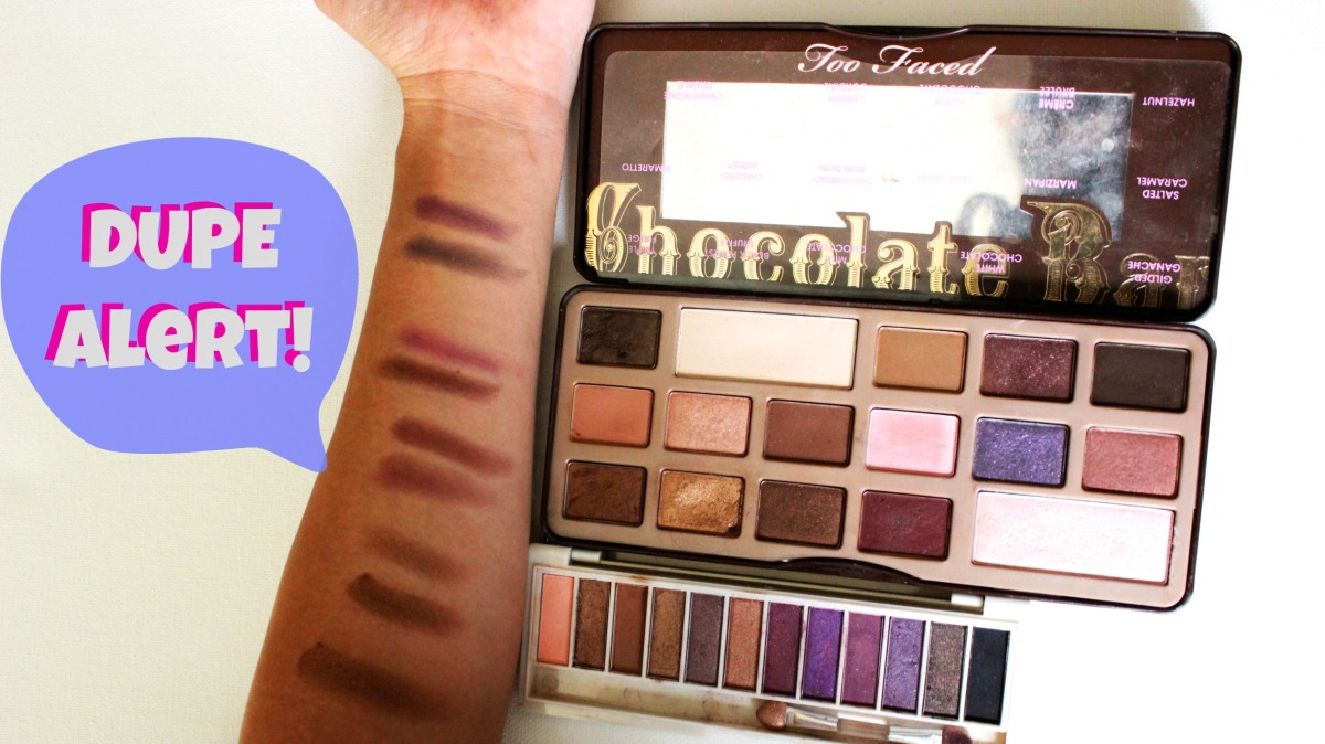 DUPE ALERT! TOO FACED CHOCOLATE BAR PALETTE- BhCosmetics ($7.95)