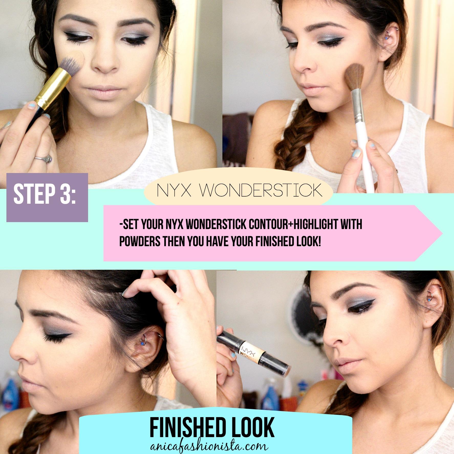 EASY HOW TO: NYX Wonder Stick- Cream Contour + Highlighting ...