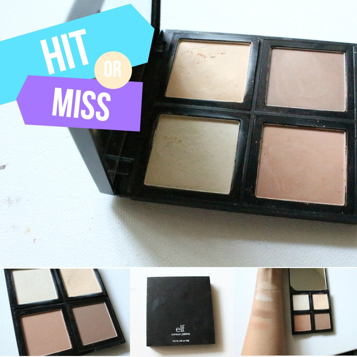 HIT or MISS? E.L.F Cosmetics: Contour Palette
