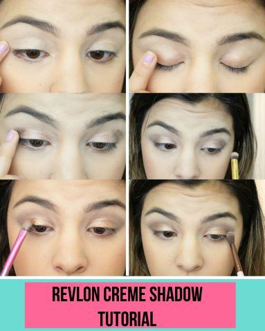 revlon creme shadow tutorial