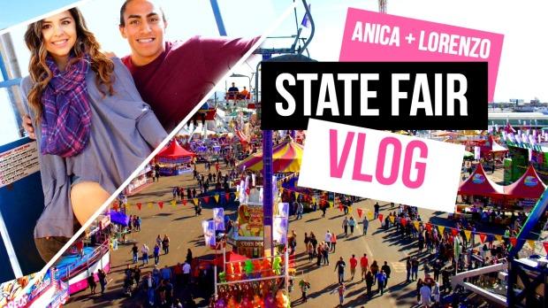 state fair vlog thumbnail